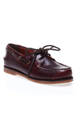 Timberland Boat Shoes Ftk 85754 Çocuk Bot Brown