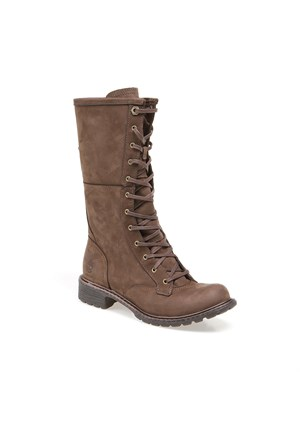 Timberland Stoddard Mid Lace Wp Boot 8608A Kadın Dk Brown Çizme