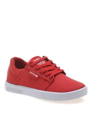 Supra Corner Kids Westway S12014K Çocuk Ayakkabı Red Whıte
