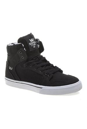 Supra Corner Kids Vaider S11205K Çocuk Ayakkabı Black Black Whıte