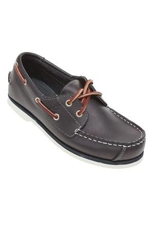 Timberland Boat Shoes Ftk 85738 Çocuk Bot Navy Smooth