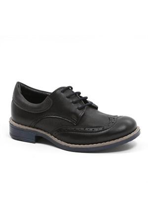 Sanbe Erkek Çocuk Ayakkabı 201 H 501 - Siyah-Mavi