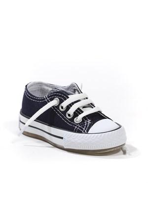 Sanbe Erkek Çocuk Işıklı Keten Ayakkabı - 401 H 3703 Lacivert