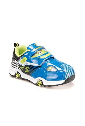 Kinetix 1275255 Mavi Siyah Beyaz Erkek Çocuk Sneaker