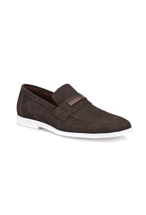 Garamond G-1 M 1455 Kahverengi Erkek Nubuk Deri Ayakkabı