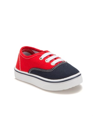 I Cool Gomez Lacivert Kırmızı Erkek Çocuk Ayakkabı
