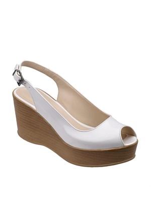 Polaris 61.308529.Z Beyaz Kadın Ayakkabı