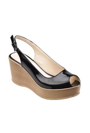 Polaris 61.308529.Z Siyah Kadın Ayakkabı