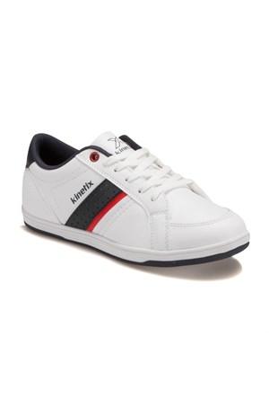 Kinetix A1287389 Beyaz Lacivert Kırmızı Erkek Çocuk Sneaker