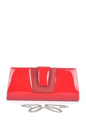 Simalore 8001-17 Rugan-Kırmızı Abiye Çanta