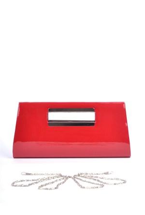 Simalore 8006-6 Rugan-Kırmızı Abiye Çanta