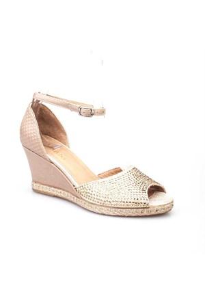 Cabani Kadın Ayakkabı Altın Rengi