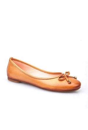 Cabani Kadın Ayakkabı Taba Deri