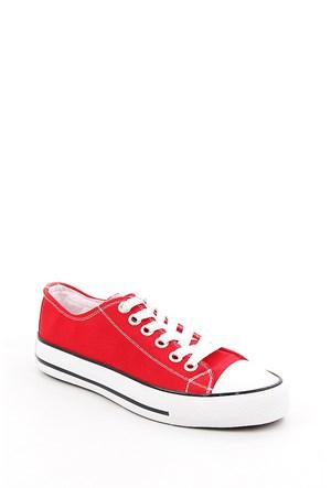 Gön Trend Ayakkabı 35992 Kırmızı Keten