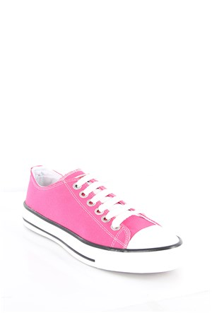 Gön Trend Ayakkabı 35992 Fuşya Keten