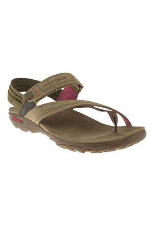 Merrell 266 J57510z Kahverengi Sandalet
