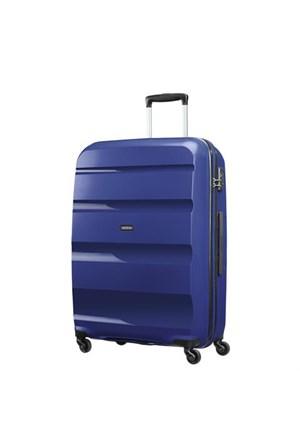 Samsonite Bon Air 75 Cm Büyük Boy Spinner Valiz Mavi