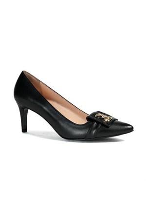 Desa Collection Patra Kadın Klasik Deri Ayakkabı Siyah