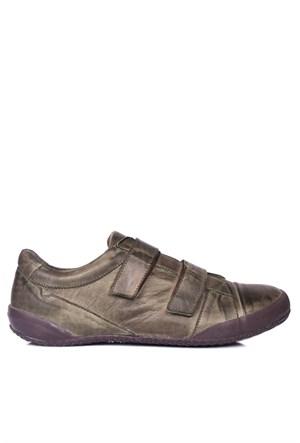 Loggalin 313314 090 677 Kadın Haki Günlük Ayakkabı