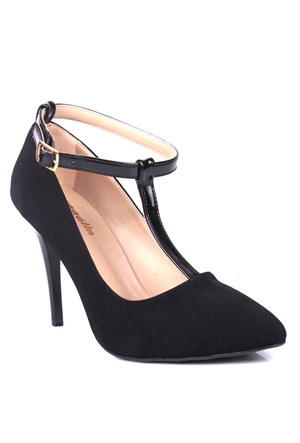 Loggalin 580129 031 008 Kadın Siyah Stiletto