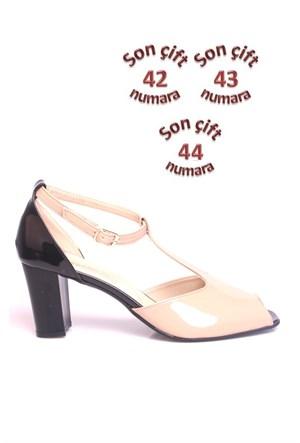 Loggalin 375104 031 020 Kadın Siyah Vizon Günlük Ayakkabı