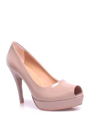 Loggalin 580912 031 320 Kadın Bej Platform Ayakkabı