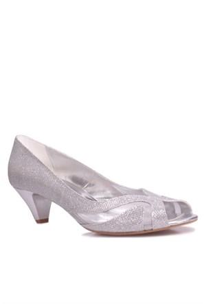 Loggalin 520336 031 773 Kadın Silver Abiye Ayakkabı