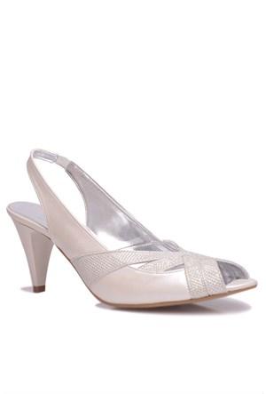 Loggalin 520334 031 378 Kadın Silver Abiye Ayakkabı