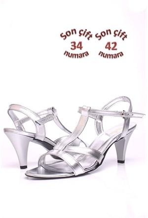 Loggalin 580005 031 771 Kadın Silver Sandalet