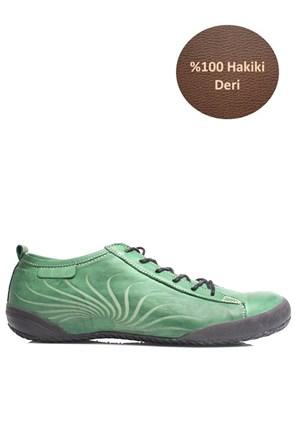 Loggalin 313323 090 701 Kadın Yeşil Günlük Ayakkabı