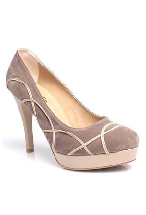 Loggalin 580505 031 325 Kadın Bej Platform Ayakkabı