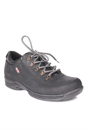 Se-Sa 737227 041 015 Erkek Siyah Günlük Ayakkabı
