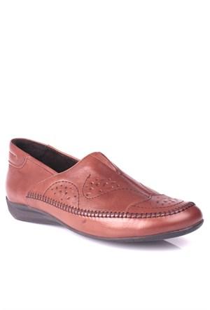King Paolo 5041 034 167 Kadın Taba Günlük Ayakkabı
