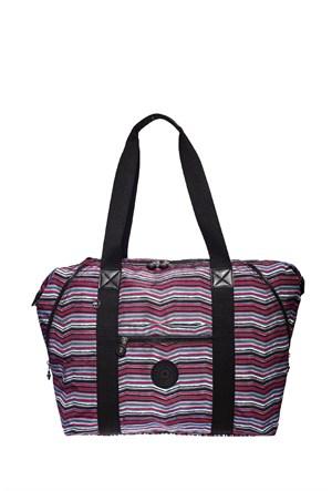 Smart Bags Omuz Çantası Brc1021-0250 Çizgili Multi