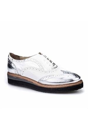 Cabani Kadın Ayakkabı Gümüş