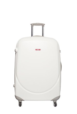 Ççs Kumaş Valiz Ççs5105-L Beyaz
