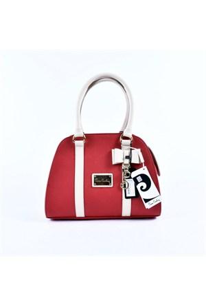 Pierre Cardin Kırmızı Bayan El Çantası 31368