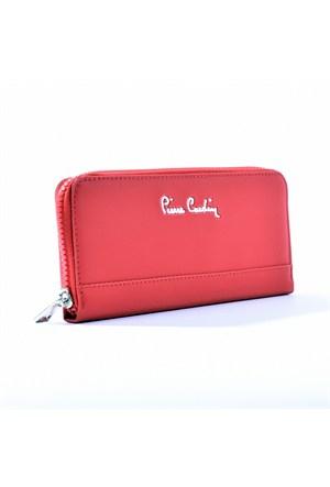 Pierre Cardin Bayan Cüzdan Kırmızı 32303