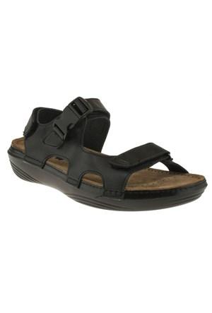 Muya 157 26421M Siyah Sandalet