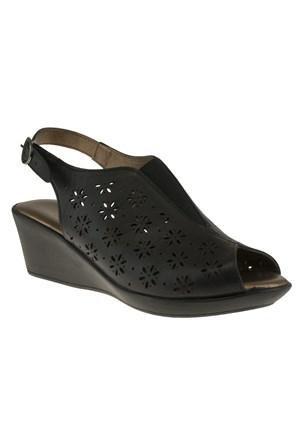 Floor 144 16-4214Z Siyah Ayakkabı