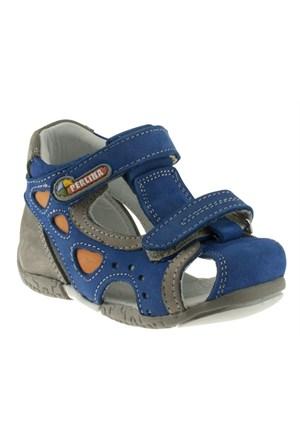Perlina 253 017Ilk Mavi Ayakkabı