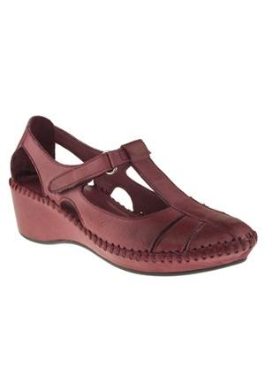 La Pinta 270 209-120Z Bordo Ayakkabı