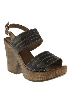 La Pinta 270 270-244Z Siyah Sandalet