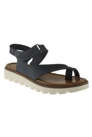 La Pinta 270 453-119Z Lacivert Sandalet