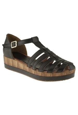 La Pinta 270 322-5847Z Siyah Sandalet