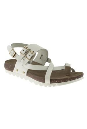 Hush Puppies 235 1471Z Beyaz Sandalet