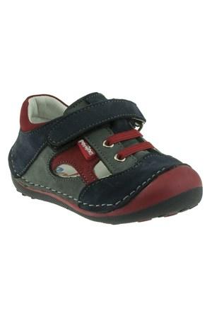 Perlina 253 050Ilk Lacivert Ayakkabı