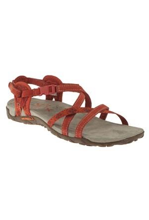 Merrell 266 J55314z Kırmızı Sandalet