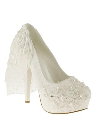 Isabel 285 937-1Z Beyaz Ayakkabı