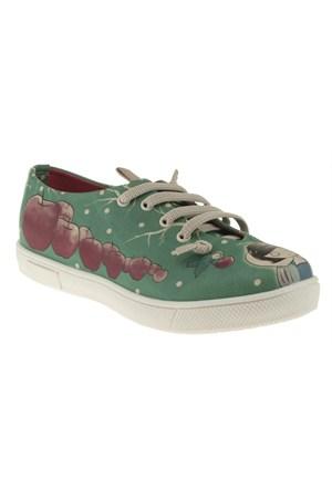 Dogo 307 015-107F Yeşil Ayakkabı
